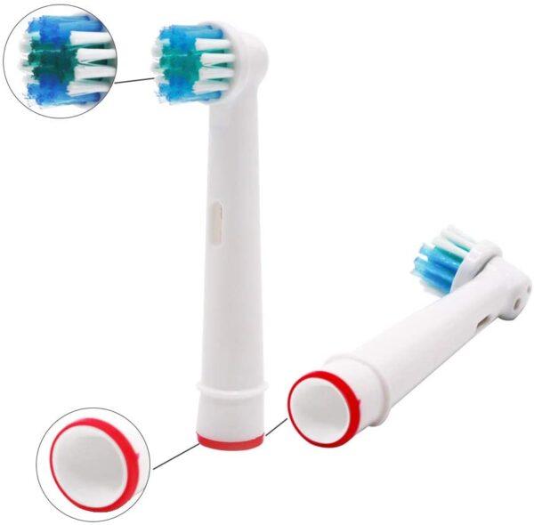 Universele elektrische opzetborstels voor Braun Oral B 2