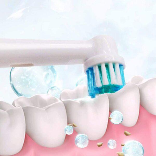 Universele elektrische opzetborstels voor Braun Oral B 4