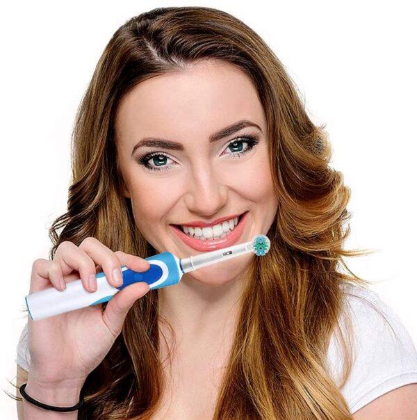 Universele elektrische opzetborstels voor Braun Oral B 3